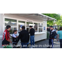 Container Ticket Lobby with Folded Awning (shs-fp-commercial005)