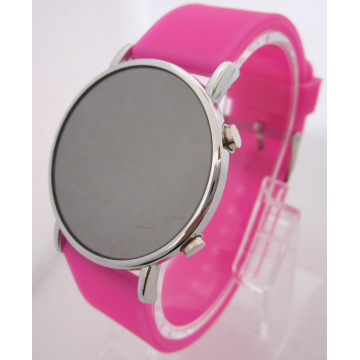 Reloj de Silicona Candy Color Fashion LED
