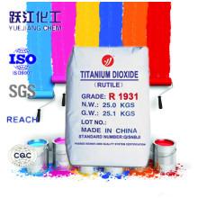 Nano TiO2 Rutilo Líquido de dióxido de titanio con alta calidad