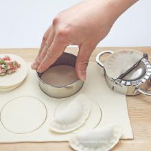 New DIY Dumplings Maker Tool 304 Stainless Steel Jiaozi Pierogi Mold Dumpling Mold Clips Baking Molds Pastry Kitchen Accessories