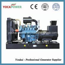Low Oil Fuel Consumption Doosan 240kw/300kVA Diesel Generator Set