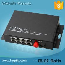 Apprécie une bonne renommée à la maison et à l'étranger 4 multiplexeur téléphonique de port / gsm au convertisseur rj11