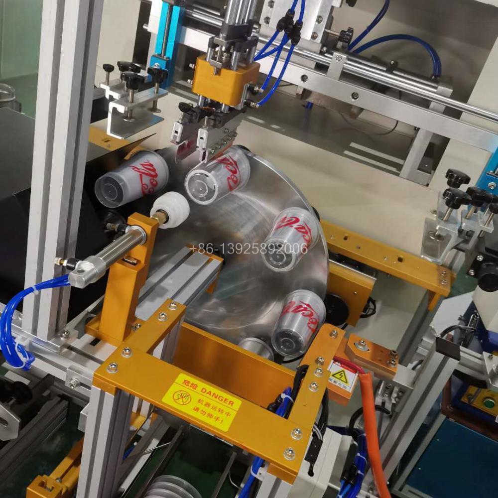 Automatic Cups Screen Printer 6