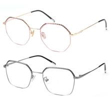 Custom metal optical frames eyeglasses