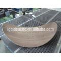 Alta qualidade 1325 4 eixos para trabalhar madeira router cnc para prancha de surf