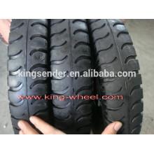 pneu de borracha de carrinho de mão