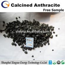 XY-112 Charbon anthracite à faible teneur en soufre 0,2% calciné électriquement