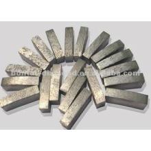 Различная форма алмазных сегментов для пильного диска и абразивного инструмента