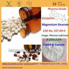 Magnesium Stearate,White fine powder sand easily,ISO Certificate