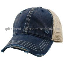 Grinding Dirty Washed Sport Baseball Mesh Trucker Cap (TM0853)