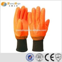 Sunnyhope Fluoreszierende pvc schwere Gummihandschuhe