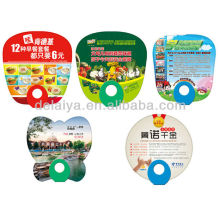 Customise advertising plastic hand fan for promotion or event