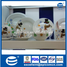 christmas snowman series porcelain home decor tableware