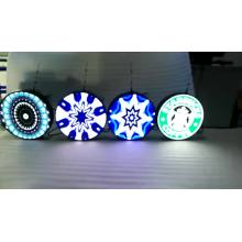 Pantalla led circular P4 caliente pantalla led panel