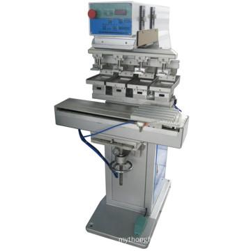 TM-S4 4-Color Ink Cup Label Plastic Pad Printer Machine
