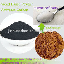 powder charcoal as sugar catalyst