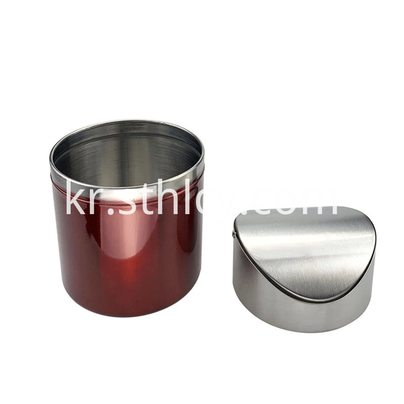 Removable Stainless Steel Waste Bin
