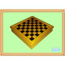 Jogo de jogo de madeira 5 em 1 jogo de jogo de xadrez multi atacado