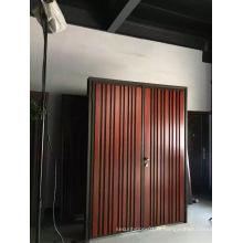 Nouveau design en acier métallique porte de sécurité
