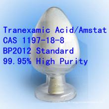 BP Tranexamic Säure-hoher Reinheitsgrad Amstat CAS 1197-18-8 Roh Pharma API
