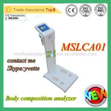 MSLCA01M Analyseur de composition corporelle Appareil d'analyseur de corps bon marché avec CE et ISO approuvé