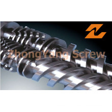 Bimetallic Extruder Twin Conical Screw and Barrel
