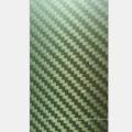 Heißer Verkauf 2,5mm Dicke Gelb Kevlar Tücher 400x500mm Kohlefaserplatten