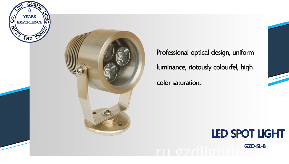 DC24V led spotlight
