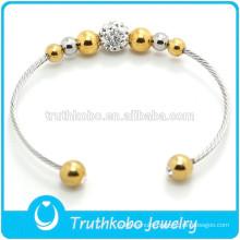 Custom bio magnetic bracelet stainless steel cuff bracelet japanese magnetic bracelet
