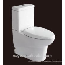 EAGO Watermark cerâmica duas peças s armadilha dupla WC WC379S / SA3790