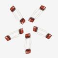 Condensateurs de film de polyester métallisés 0.22UF AC 250V de Topmay Tmcf03 104 K 250V pour l'éclairage