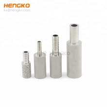 HENGKO Sintered stainless steel 0.5 2 microns air oxygen aeration stone nano micro bubble diffuser generator