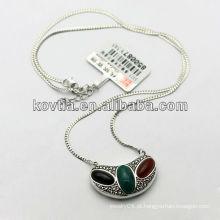 Moda jóia de prata 925 colar de prata esterlina