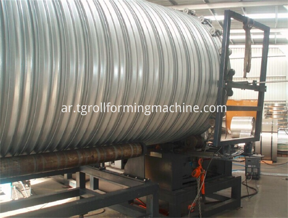Culvert Pipe Making Machine