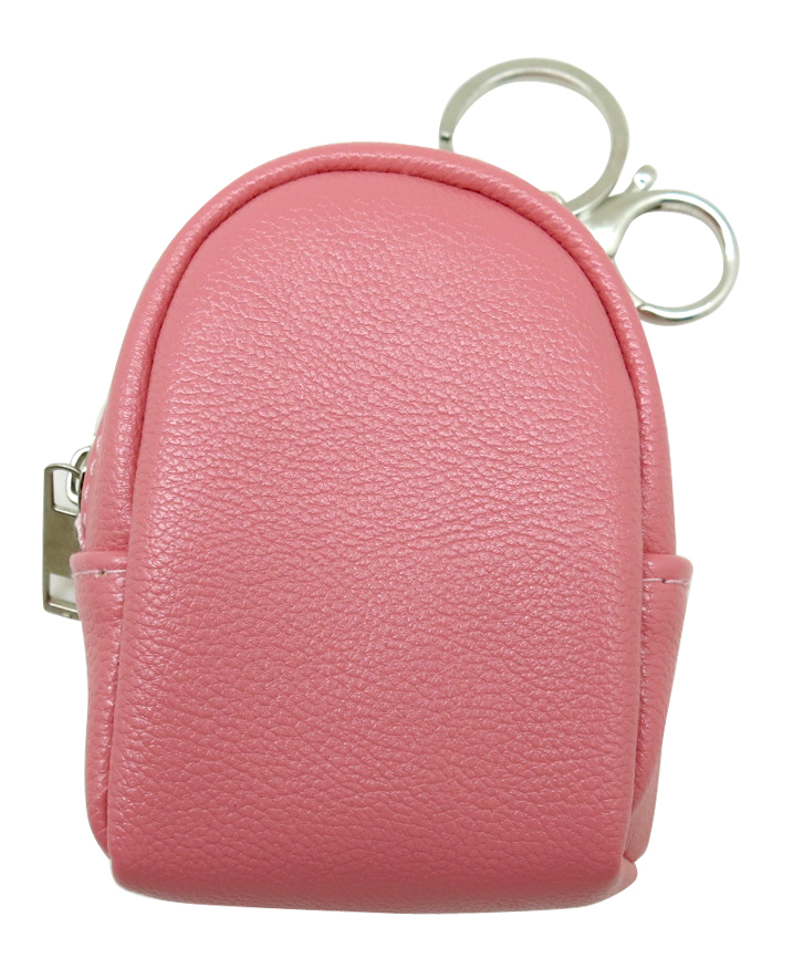 Solid Colored Coin Purse Keyring 1