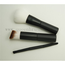 Mini 3PCS Plastikhandgriff-Spielraum-kosmetischer Bürsten-Satz