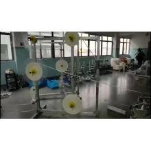 Máquina para fabricar paja de papel carbón