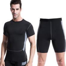 Pantalones cortos deportivos de compresión de 5 colores Pantalones cortos de compresión de entrenamiento