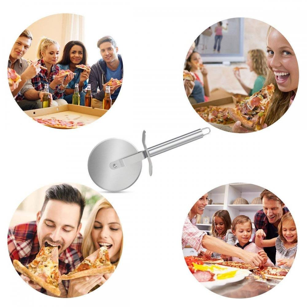 Premium Stainless Steel Pizza Cutter