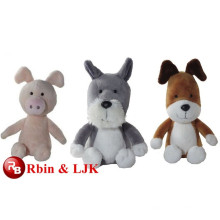 ICTI Audited Factory kipper el juguete suave del perro