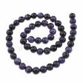 Beliebte Edelstein Perle 8mm runde natürliche Quarz charoite Perle