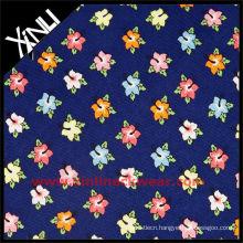 Print Silk Necktie Fabric