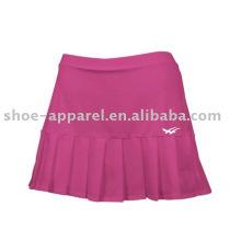 Wholesale poids léger rose jupes de tennis échantillon gratuit