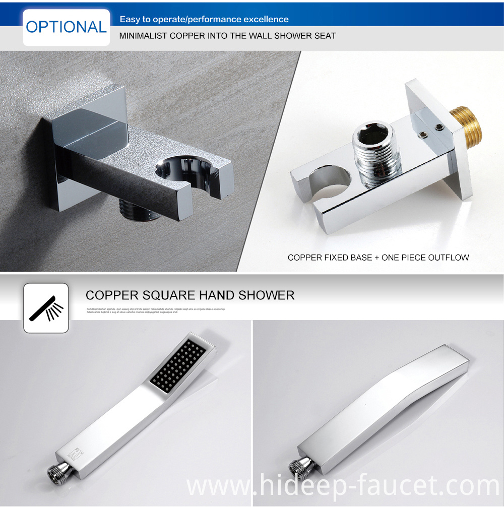 Hidden Shower Mixer