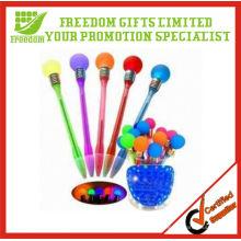 Customized logo Promotional Flashing Bulb Pen Light Up Pen