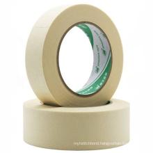 80 degree automotive used High adhesive crepe paper masking tape