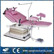 AG-S104B instrumento de examen mesa quirúrgica camas de ginecología