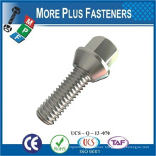 Made in Taiwan Stainless Steel Carbon Steel Chrome or Black Taper Wheel Stud