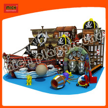 Kids Outdoor Wooden Mini Pirate Ship Playground for Sale