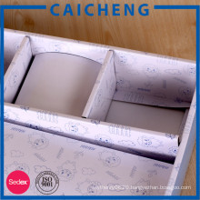 Custom Logo Printed Folding Cardboard Garment Packaging Box
